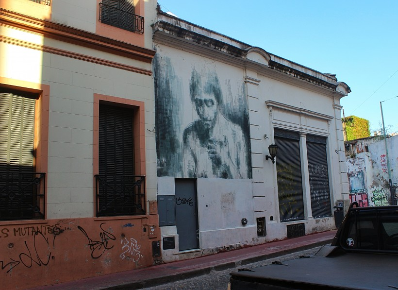 hauntingly beautiful public space take over with street art in san telmo in buenos aires, graffiti in argentina