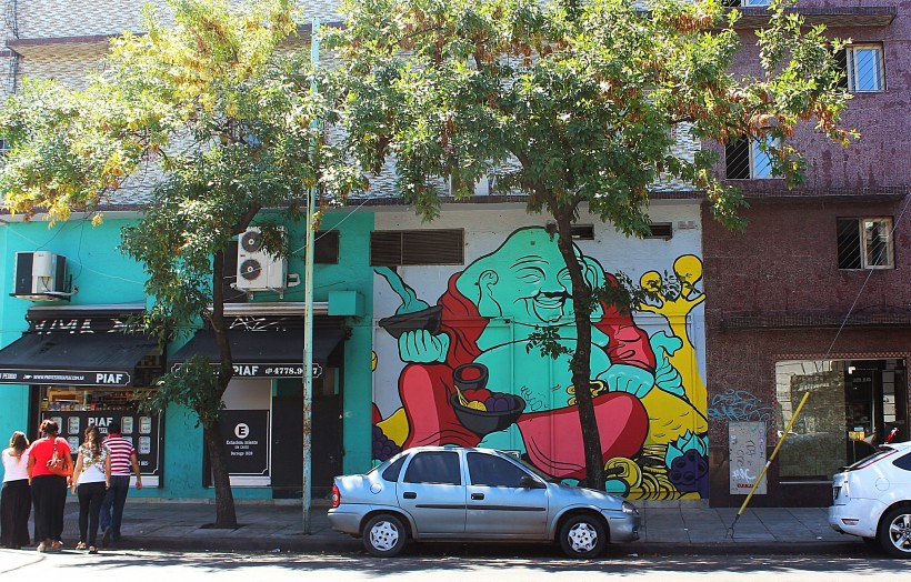 street art and public space take over in chacarita and villa crespo in buenos aires, graffiti in argentina